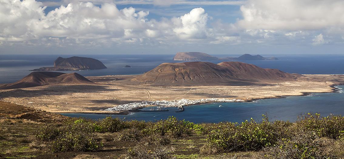 isola la graciosa - paronamica - Visit Canarias
